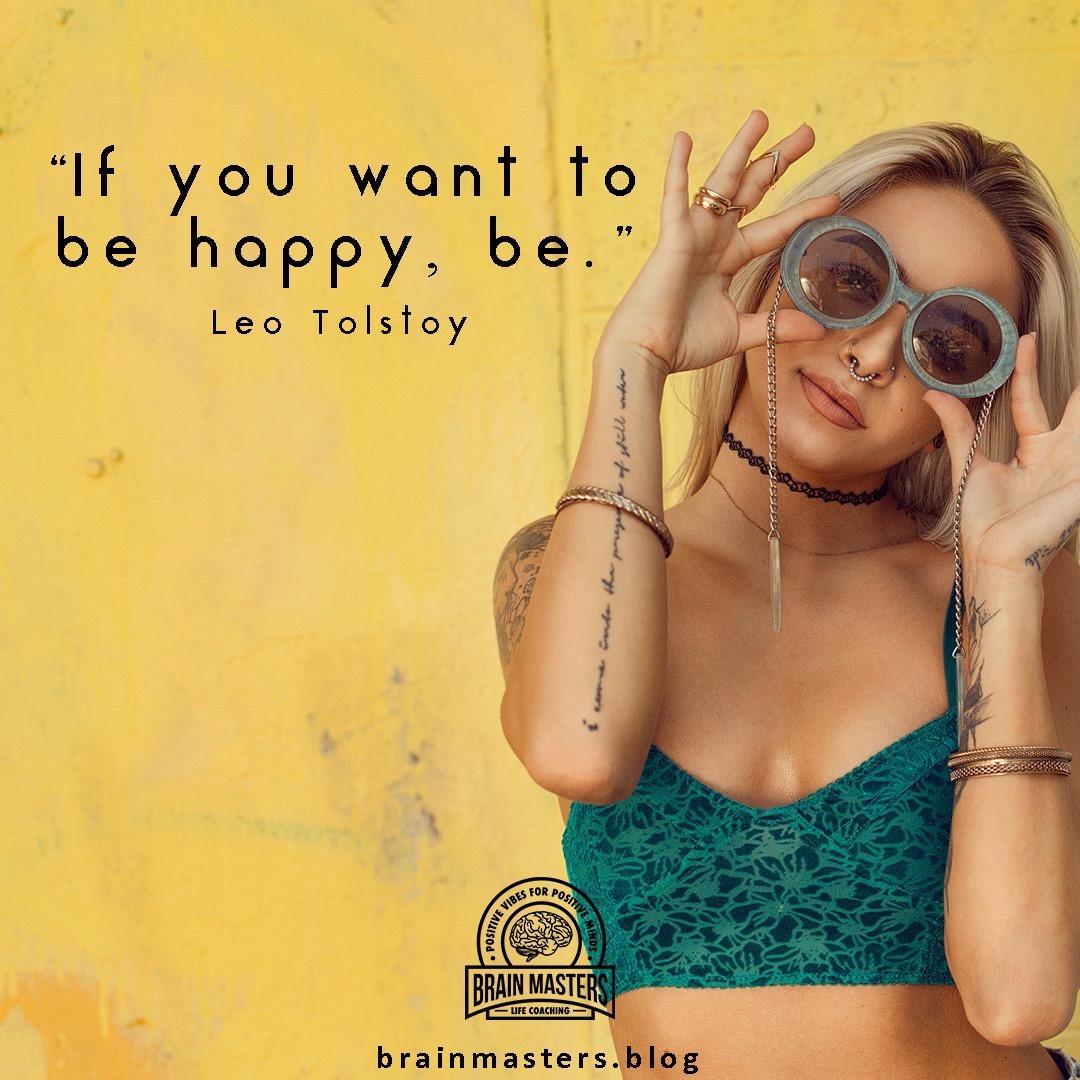 Be happy 😃
